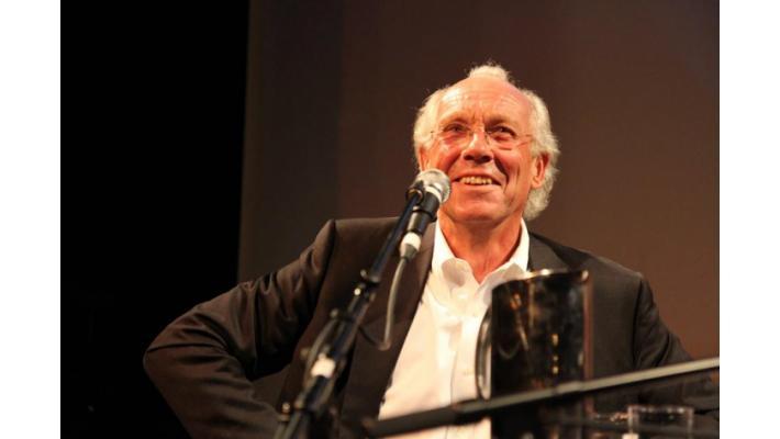 Premiere in Oslo: Jorgen Randers introducing th film
